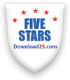 MVPspc wins 5 stars award from www.download25.com